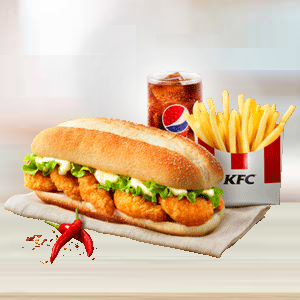 Zinger Shrimp Supreme