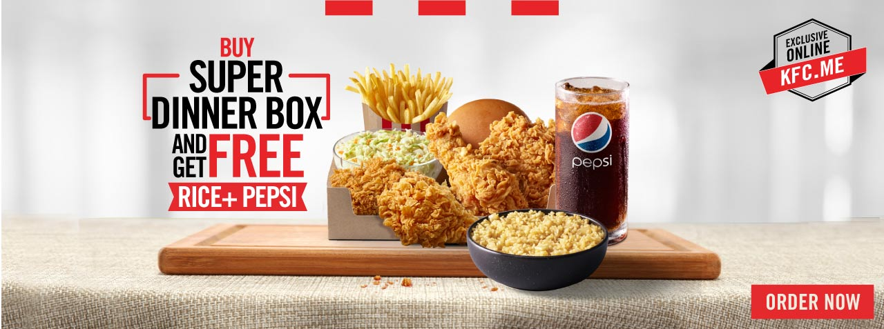 KFC Egypt Menu | Order your Fried Chicken Online with Delivery