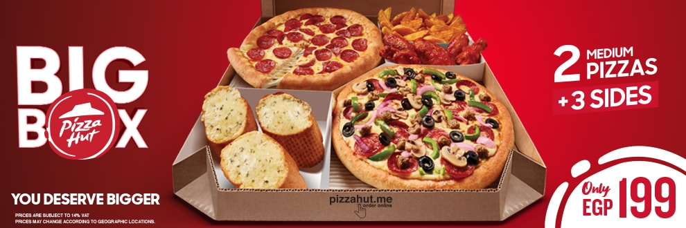 Pizza Hut Egypt Order From Pizza Hut Menu With Delivery