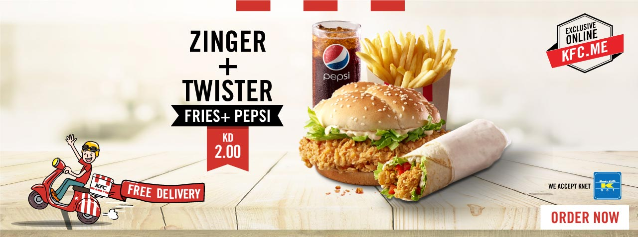 KFC Kuwait Menu   Order your Fried Chicken Online with Delivery